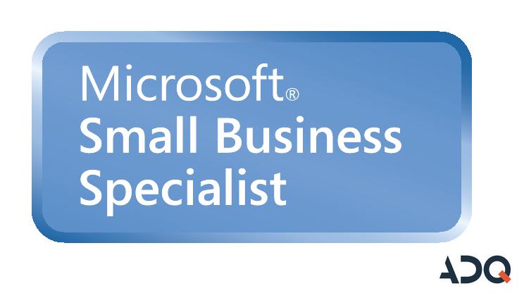 Microsoft Small Business Specialist to gwarancja współpracy z rzetelnym, posiadającym najwyższe kompetencje dostawcą rozwiązań dla małych i średnich firm.